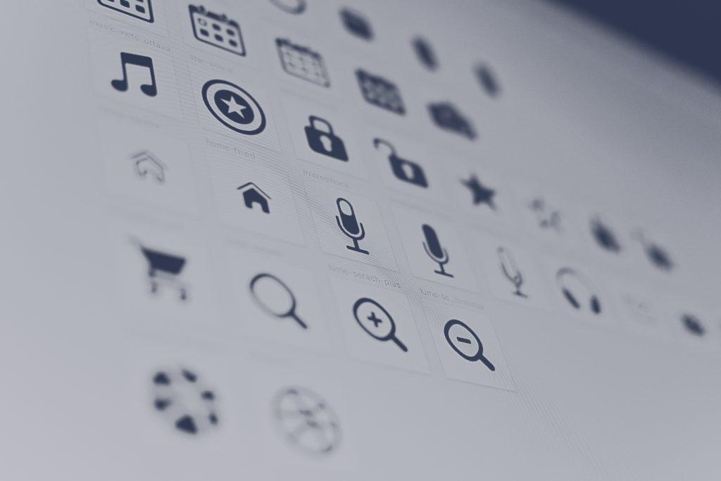 Иконки к мобильному приложению